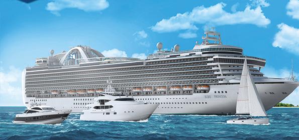 Cruiseship interiors